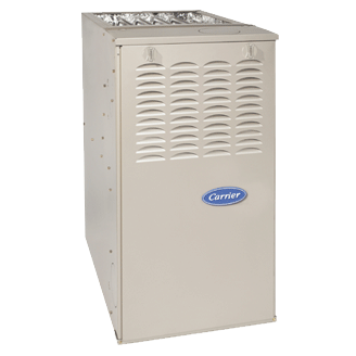 Carrier Comfort 80 Ultra-Low NOx gas furnace.