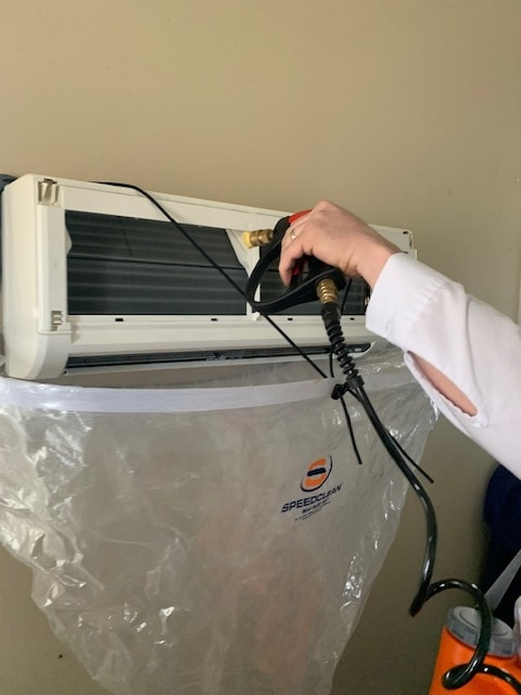 Ductless head cleaning.